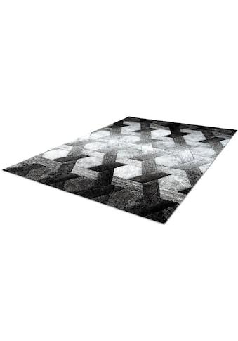 LALEE Teppich »Swing 101«, rechteckig, 14 mm Höhe, Wohnzimmer kaufen