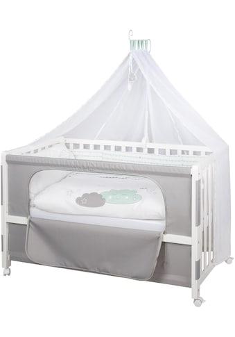 roba® Babybett »Room Bed - Dekor Happy Cloud«, als Beistell-, Kinder- und Juniorbett... kaufen