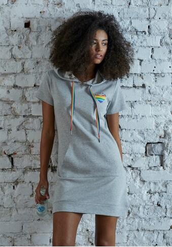 LASCANA Sweatkleid, mit Power of Love Patch kaufen
