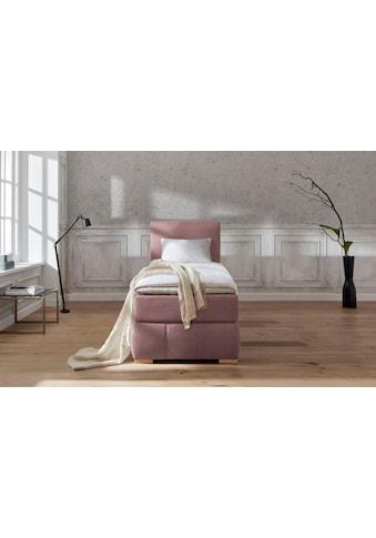 Guido Maria Kretschmer Home&Living Boxspringbett »Wehma«, inkl. Topper in 3... kaufen