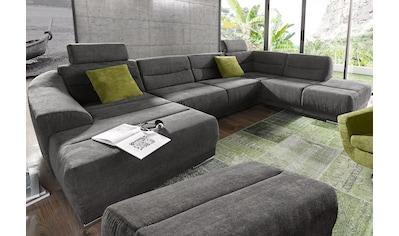 sit&more Wohnlandschaft, wahlweise mit Bettfunktion kaufen