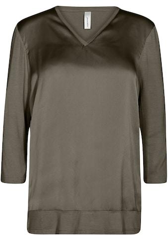 soyaconcept Shirtbluse »SC-THILDE39«, Vorderteil leicht glänzend kaufen