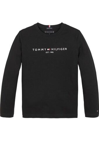 TOMMY HILFIGER Langarmshirt »ESSENTIAL TEE L/S« kaufen