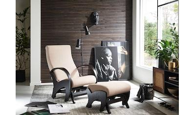 ATLANTIC home collection Relaxsessel, mit Rückenverstellung und Schaukelfunktion, Set... kaufen