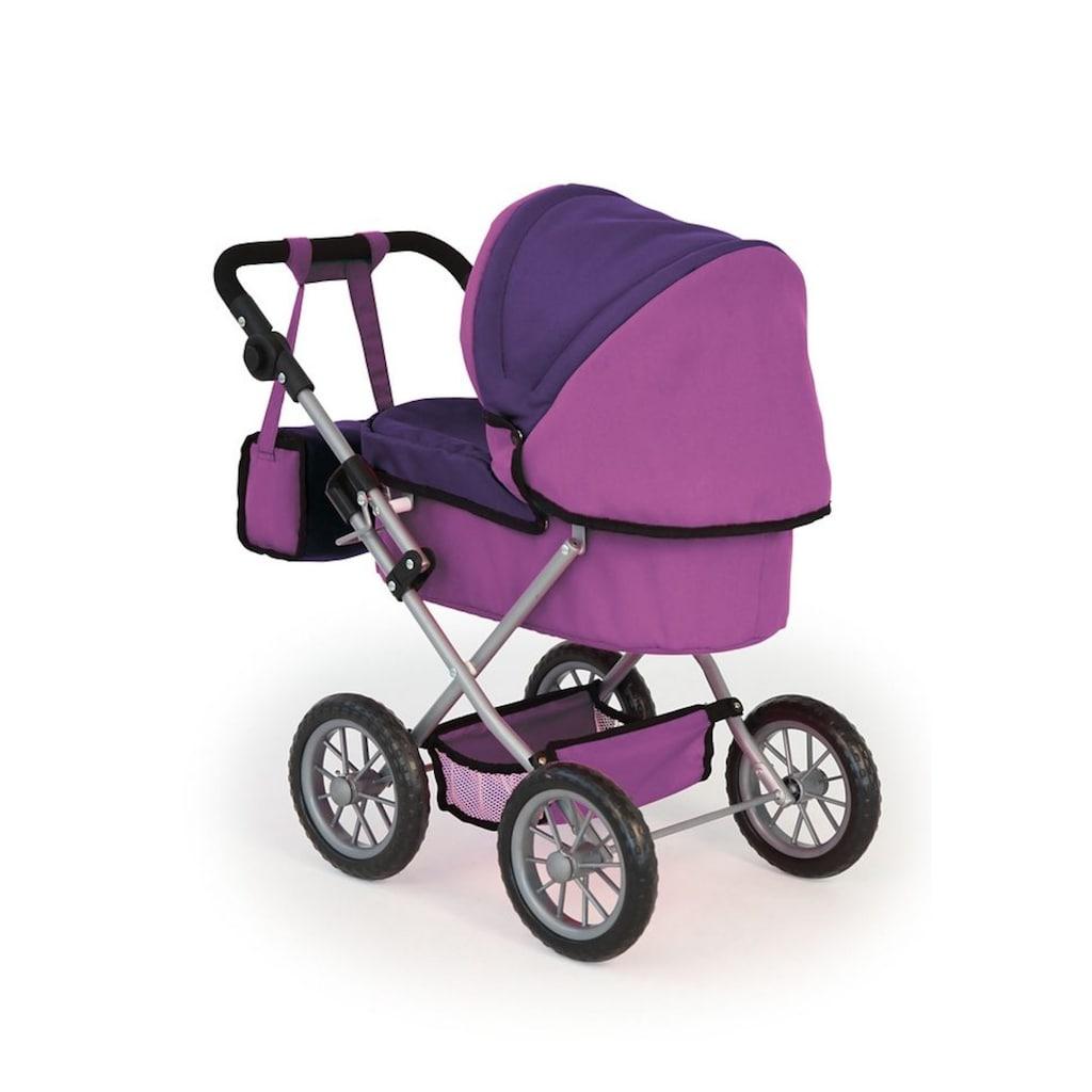 Bayer Puppenwagen »Trendy, Fee, lila«, inkl. Wickeltasche