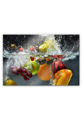 Wall-Art Herd-Abdeckplatte »Spritzschutz Küchenwand Obst«, (1 tlg.) kaufen
