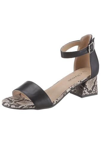 CITY WALK Sandalette, in modischer Schlangenoptik kaufen