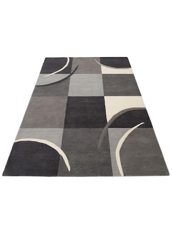 Theko Exklusiv Wollteppich »Magnus«, rechteckig, 13 mm Höhe, reine Wolle, Wohnzimmer kaufen