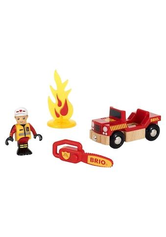 BRIO® Spielzeugeisenbahn-Erweiterung »BRIO® WORLD Spielpäckchen Feuerwehr«, für... kaufen