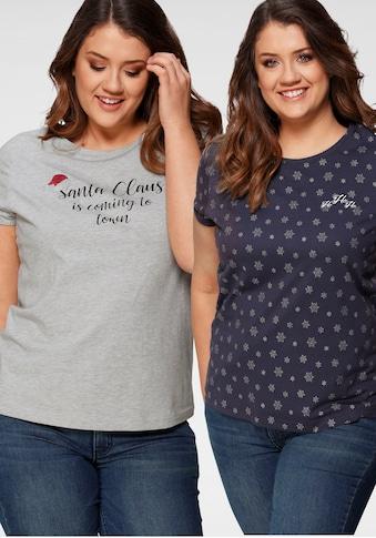 Flashlights T-Shirt »X-Mas«, mit Weihnachtsmotiven kaufen