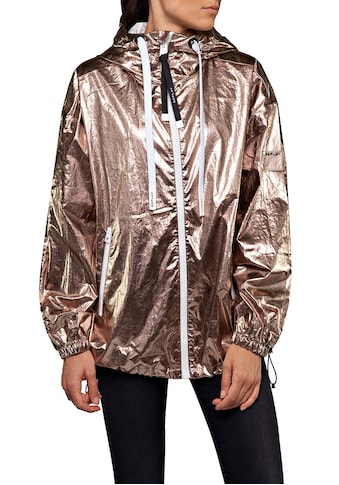 Replay Blouson, oversized Jacke im trendy Metallic-Look kaufen
