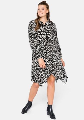 Sheego Sommerkleid, in Zipfelform kaufen