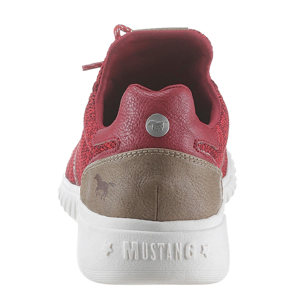 Mustang Shoes Slip-On Sneaker, mit meliertem Muster