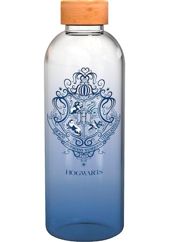 Trinkflasche »Harry Potter Glasflasche Hogwarts Wappen (1030 ml)« kaufen