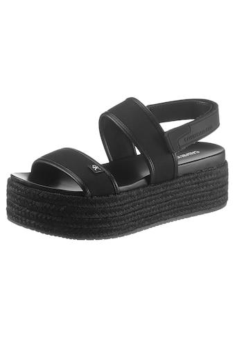 Calvin Klein Sandalette »SELLOKE«, mit Klettverschluss kaufen