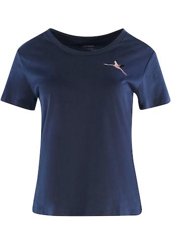 MAZINE T-Shirt »Blakely«, feminines Shirt mit kleiner Stickerei kaufen