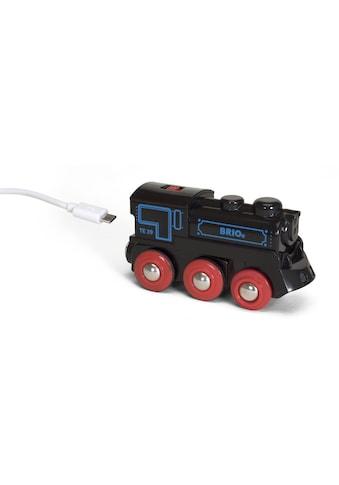 BRIO® Spielzeug-Lokomotive »Schwarze Akku-Lok mit Mini-USB« kaufen