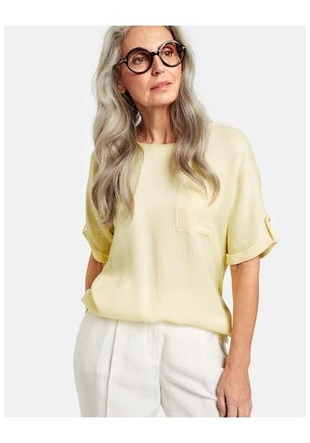 GERRY WEBER Kurzarmshirt »Shirt mit Krempelarm« kaufen