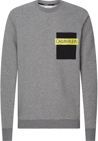 Calvin Klein Sweatshirt »NYLON POCKET SWEATSHIRT« kaufen