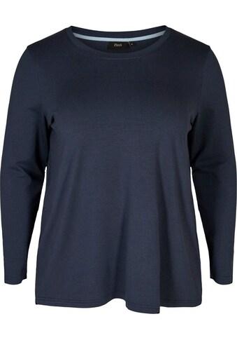 Zizzi Langarmshirt »Mlana« kaufen