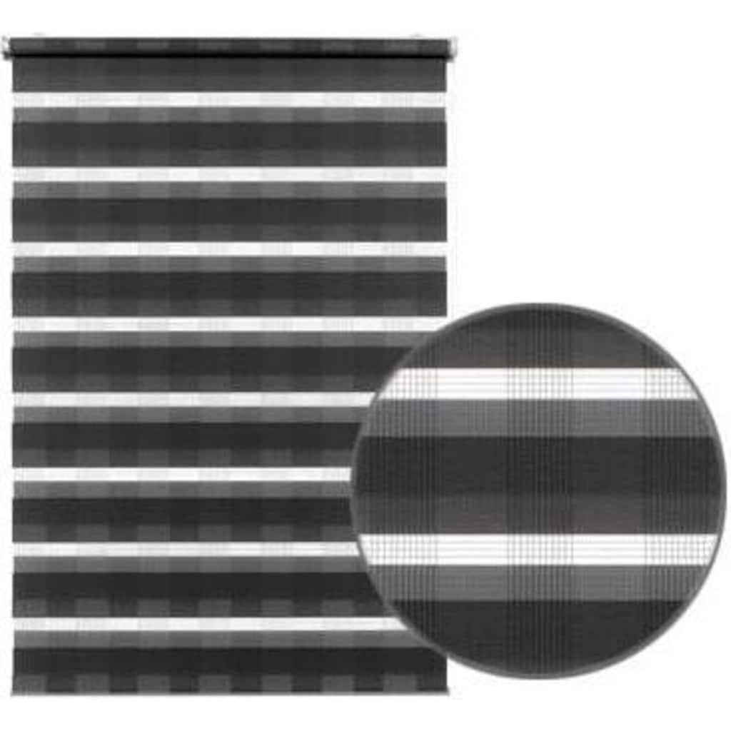 GARDINIA Doppelrollo »EASYFIX Duo Rollo Karo«, Lichtschutz, ohne Bohren, im Fixmass