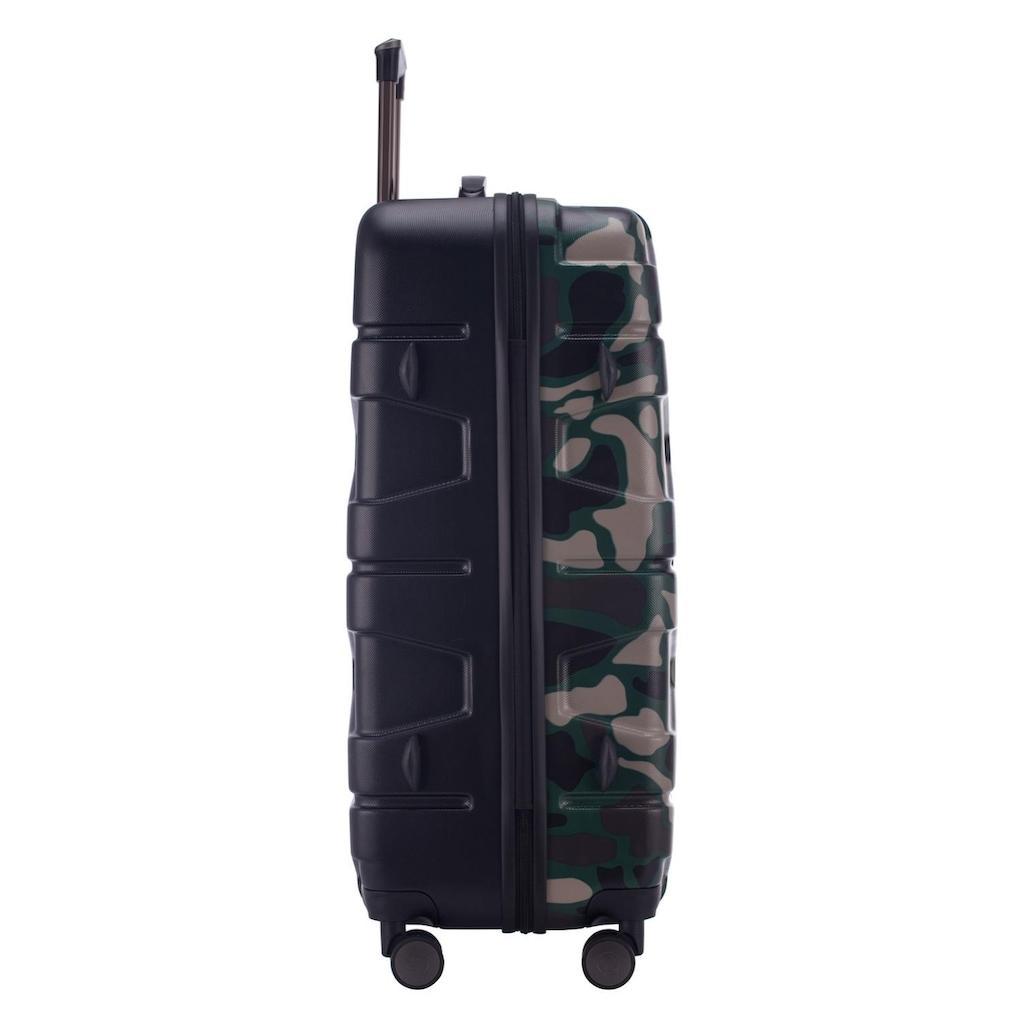 Hauptstadtkoffer Hartschalen-Trolley »X-Kölln, 77 cm, Camouflage«, 4 Rollen