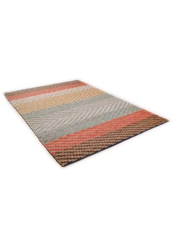 Teppich, »Pastel Stripe«, TOM TAILOR, rechteckig, Höhe 7 mm, maschinell gewebt kaufen