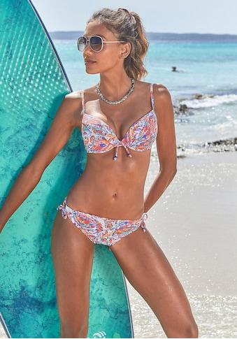 Venice Beach Push-Up-Bikini, im Paisleydesign kaufen