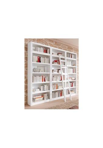 Home affaire Bücherwand »Bergen«, aus schönem massivem Kiefernholz, 3 tlg. kaufen