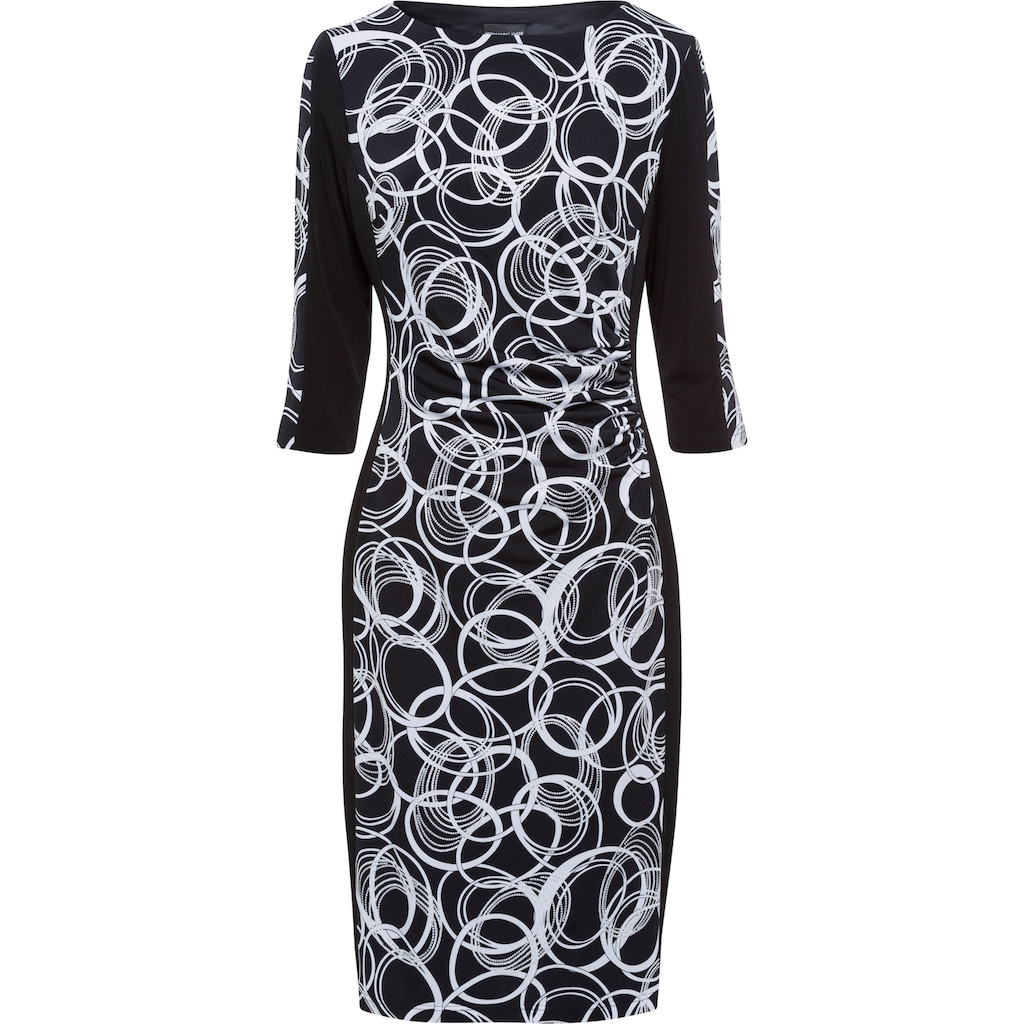 HERMANN LANGE Collection Cocktailkleid, Jerseykleid mit grafischem Druck