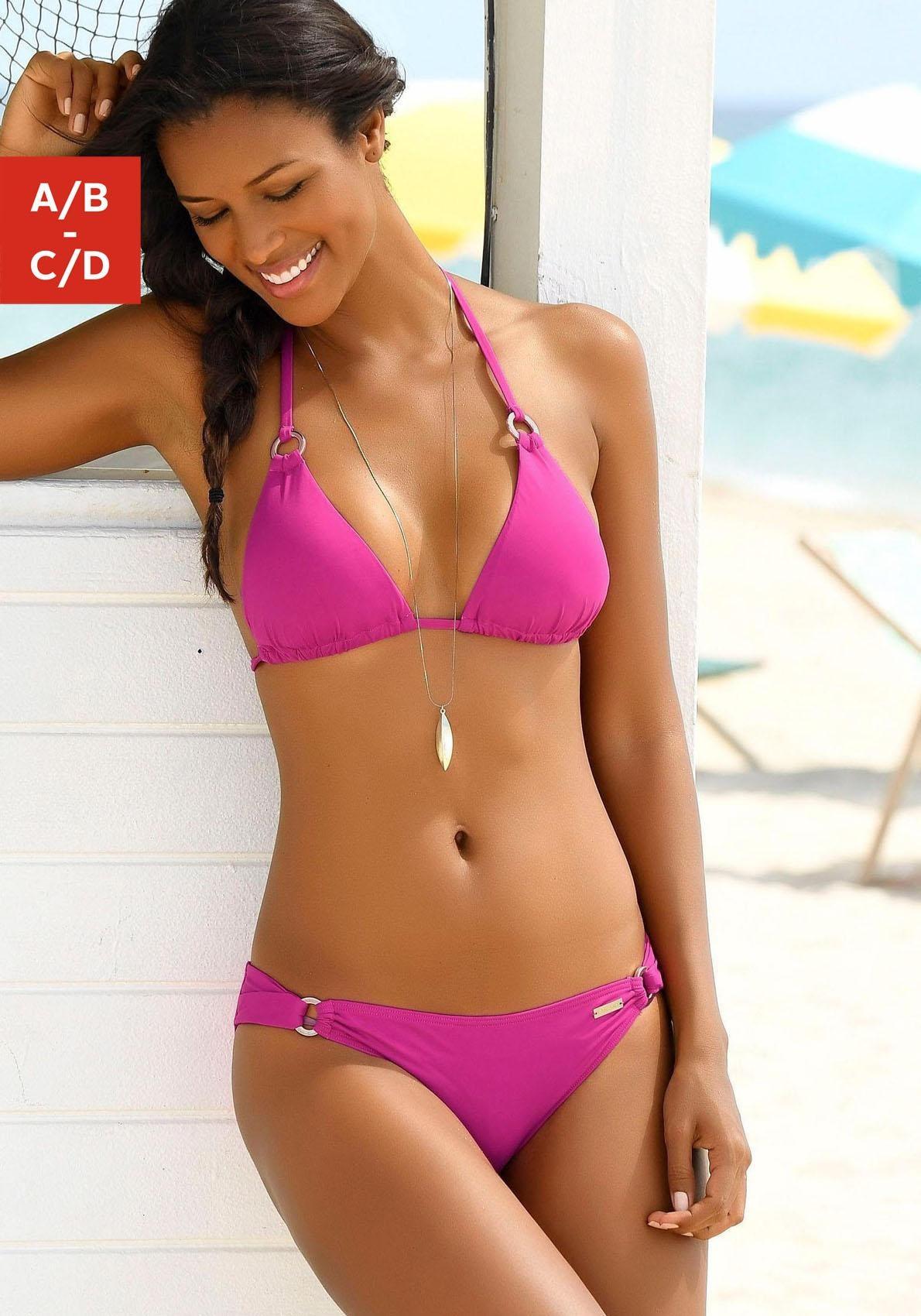 Image of LASCANA Triangel-Bikini-Top »Italy«