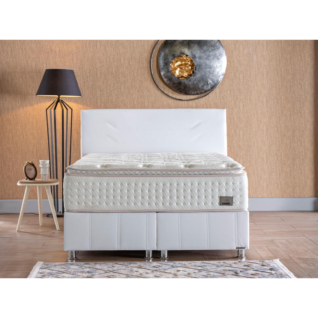 İSTİKBAL Bonnellfederkernmatratze »New IQ Comfort«, 930 Federn, (1 St.), intelligent kombinierter, doppelter Federkern mit fest vernähtem Komfortschaumtopper
