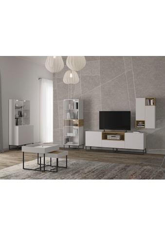 andas Lowboard »Calipso«, TV-Board mit Push-to-open Funktion, Fernsehtisch Breite 200 cm kaufen