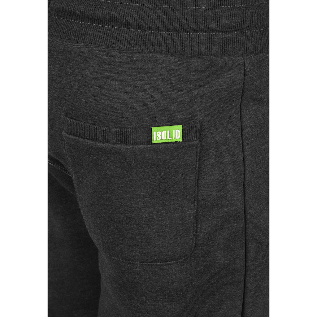 Solid Jogginghose »BennPant«, lange Hose mit kontrastfarbenenen Details