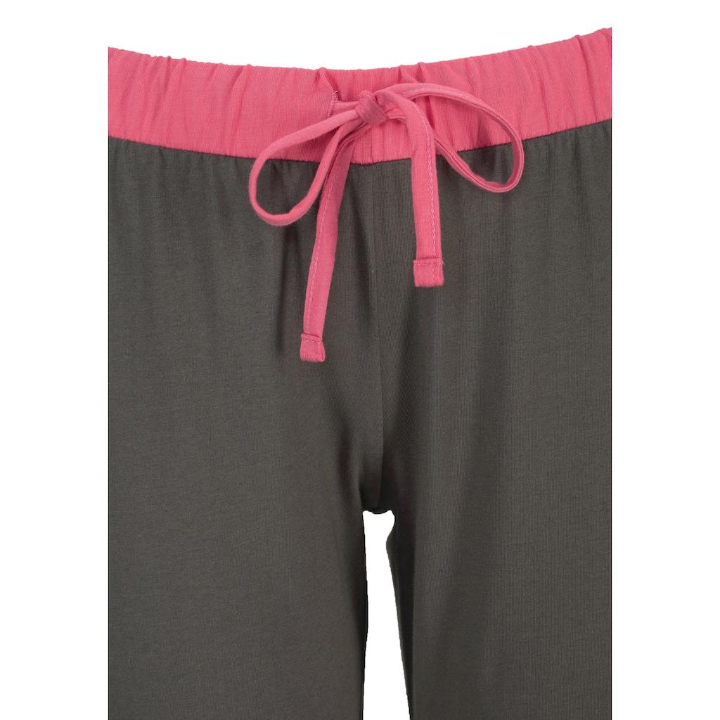 NICI Pyjama, mit Schäfchenprint