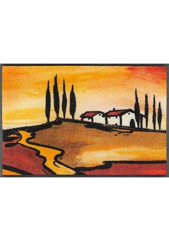 wash+dry by Kleen-Tex Fussmatte »Tuscan Muse«, rechteckig, 7 mm Höhe,... kaufen