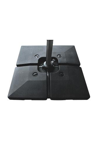 Sonnenschirm »Beschwerer 53 x 53 x 49 cm, 4 Stück, Viereck« kaufen