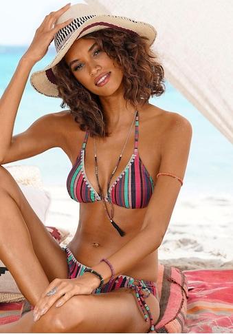 s.Oliver Beachwear Triangel-Bikini, mit sommerlichem Streifendesign kaufen