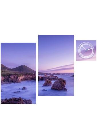 Conni Oberkircher´s Bild »Violet Stones« (Set) kaufen
