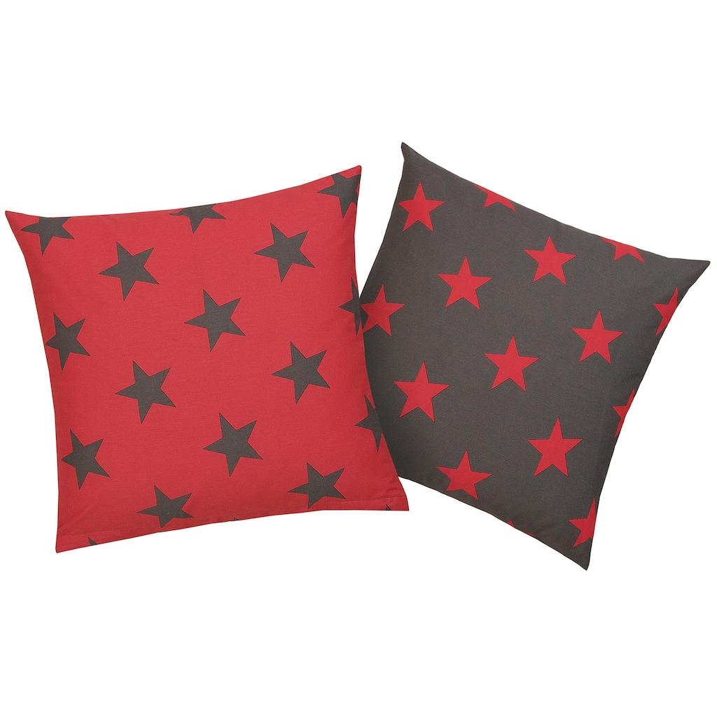 my home Kissenhüllen »Stella«, (2 St.), mit Sternen-Muster