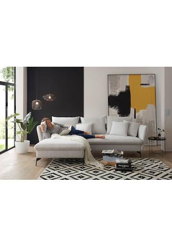 andas Ecksofa »LIVORNO«, mit Bettfunktion und Bettkasten kaufen