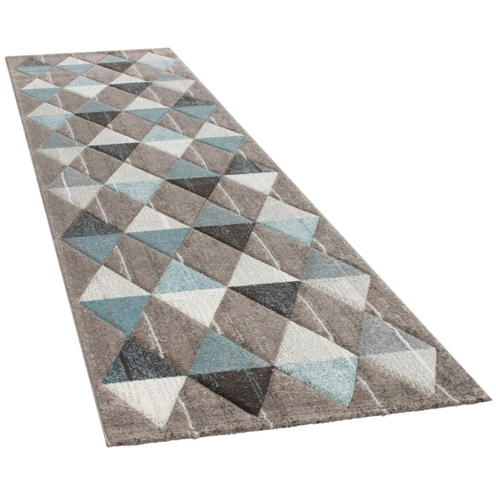 Paco Home Läufer »Lara 234«, rechteckig, 18 mm Höhe, Wohnzimmer-Teppich in schönen Pastell-Farben