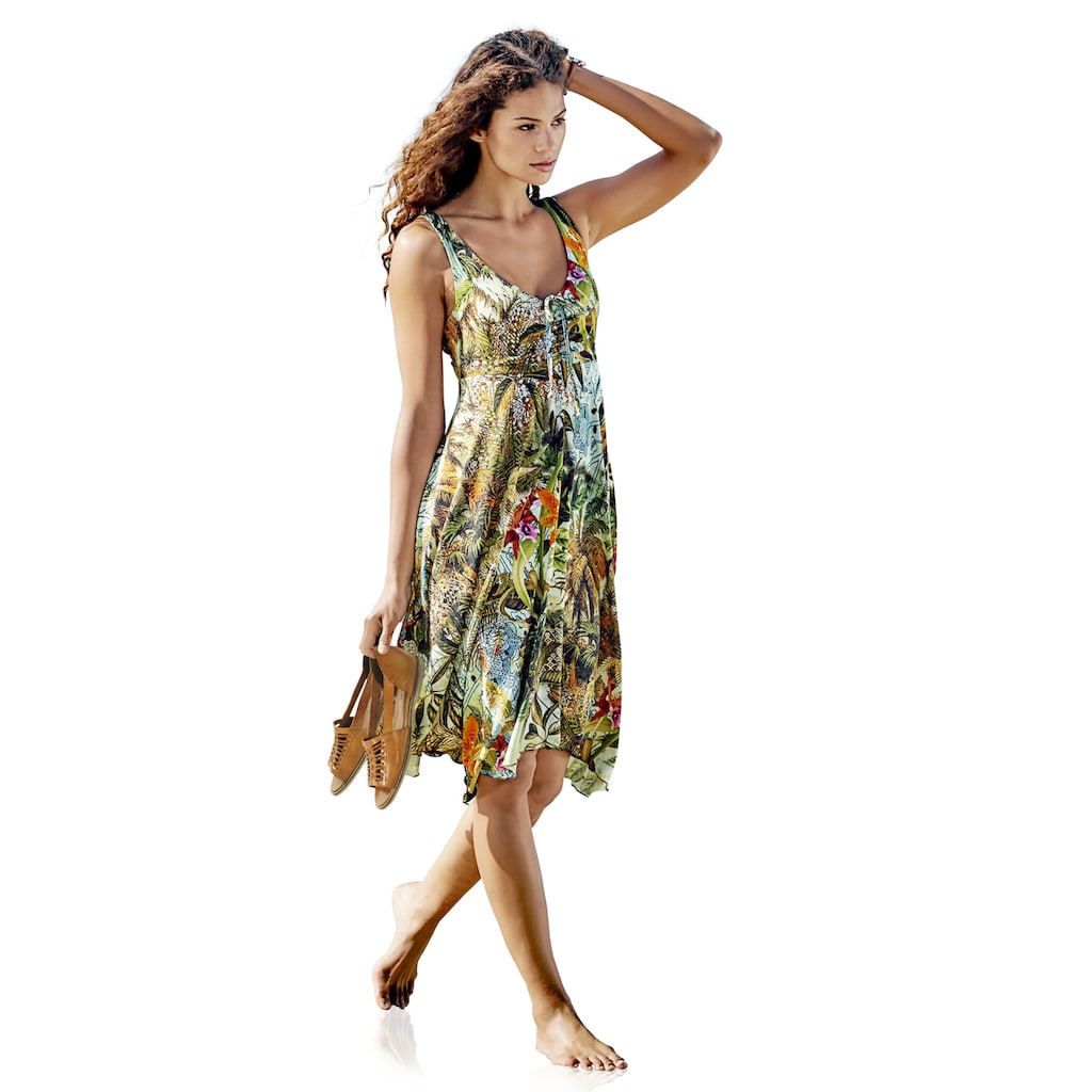 ASHLEY BROOKE by Heine Druckkleid, mit Blumen