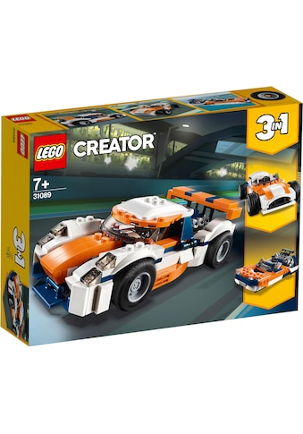 LEGO® Konstruktionsspielsteine »Rennwagen (31089), LEGO® Creator«, (221 St.), Made in... kaufen
