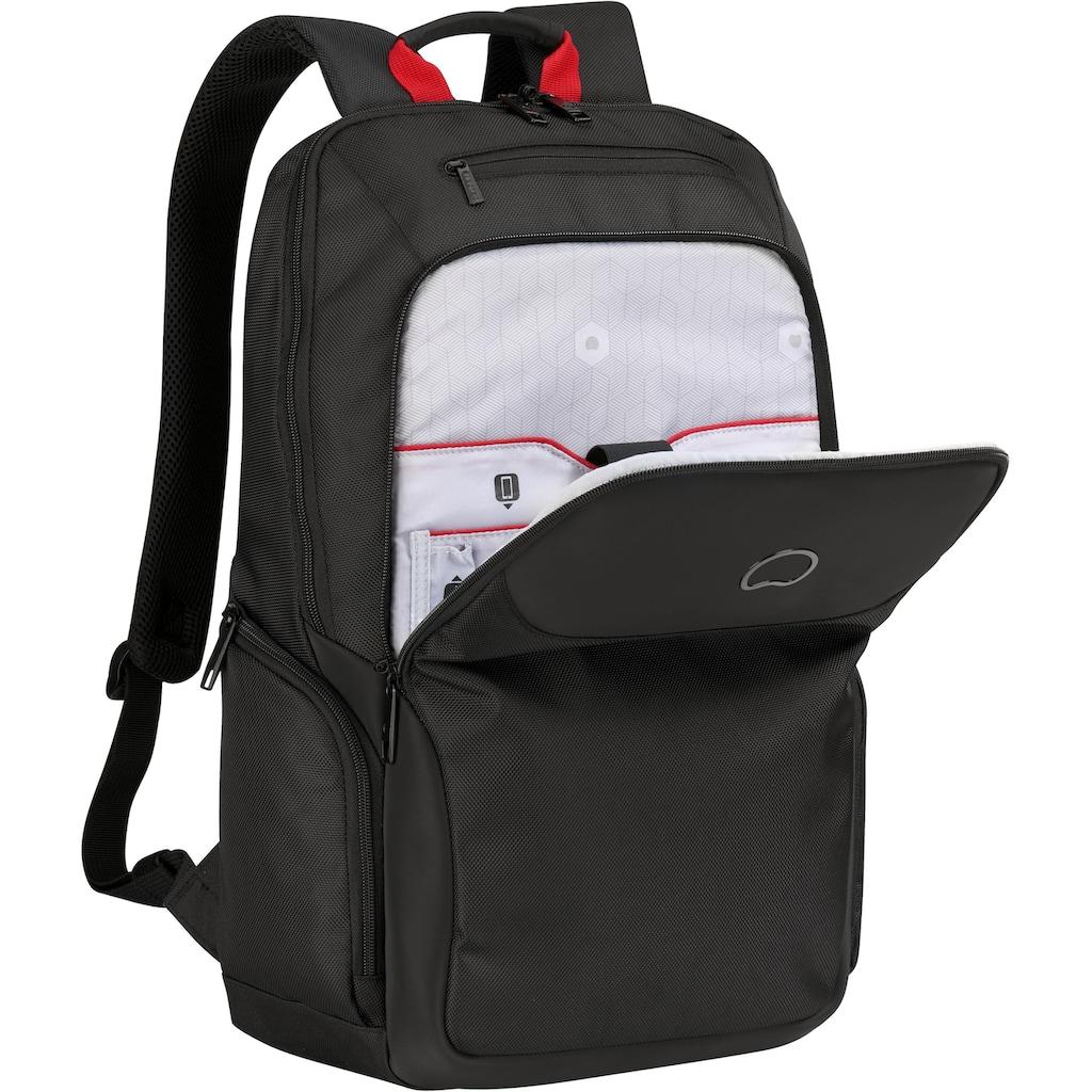 Delsey Laptoprucksack »Parvis Plus, 2 Fächer, 17,3 Zoll«