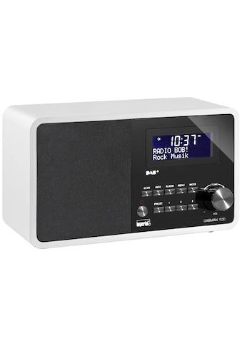 IMPERIAL Digitalradio (DAB+) »Dabman 100 Weiss«, (CD Digitalradio (DAB+)-FM-Tuner) kaufen