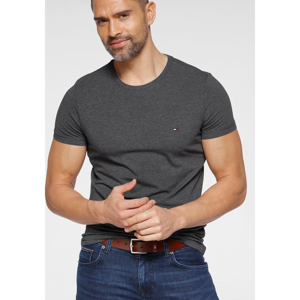 TOMMY HILFIGER T-Shirt »STRETCH SLIM FIT TEE«