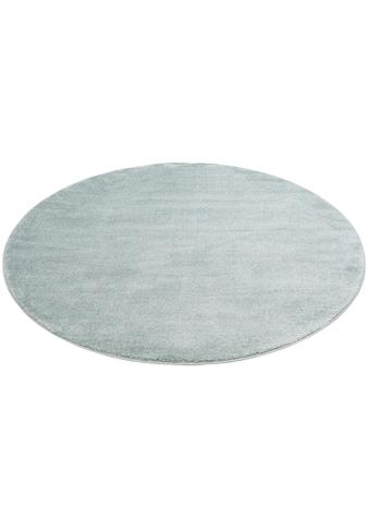 andas Teppich »Thea«, rund, 20 mm Höhe, Pastelfarben, Wohnzimmer kaufen