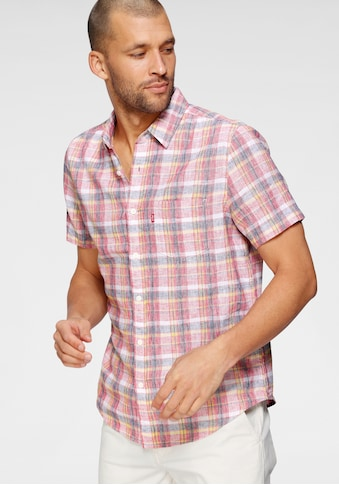 Levi's® Kurzarmhemd »LE SS CLASSIC 1 PKT STANDRD, VINCE«, mit Allover-Karomuster kaufen