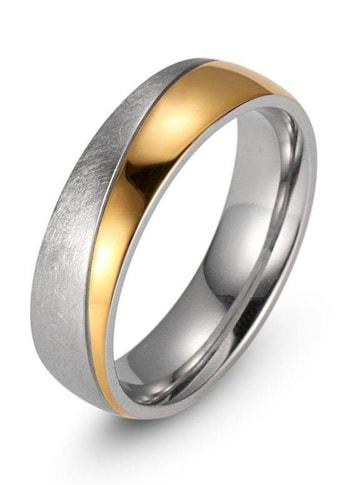 Firetti Trauring »7,0 mm, mit Vertiefung, teilweise IP-beschichtet, gelbgoldfarben,... kaufen